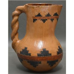 NAVAJO INDIAN POTTERY PITCHER
