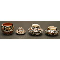 SOUTH WEST STYLE POTTERY JARS