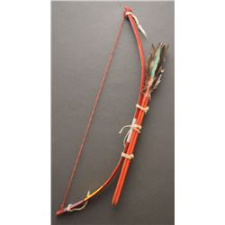 HOPI INDIAN DANCE BOW AND ARROWS