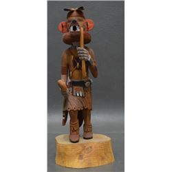 HOPI INDIAN KACHINA (EDWIN LOMAYAKTEWA)