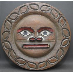 NOOTKA INDIAN WOODEN WALL PLAQUE
