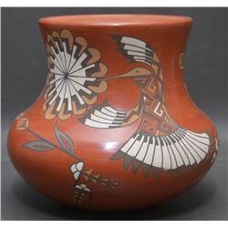 SANTA CLARA INDIAN POTTERY JAR ( LOIS AND DEREK GUTIERREZ DE LA CRUZ)