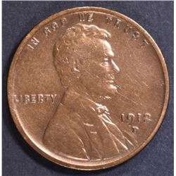 1912-D LINCOLN CENT VF/XF