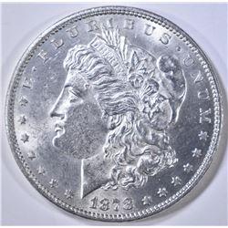 1878 7/8 TF MORGAN DOLLAR CH BU