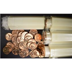 4 BU ROLLS OF LINCOLN CENTS: