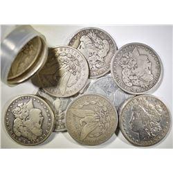 ROLL OF CIRC 1896-S MORGAN DOLLARS