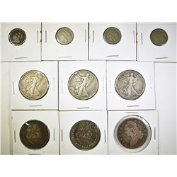 10 COIN COLLECTOR LOT: