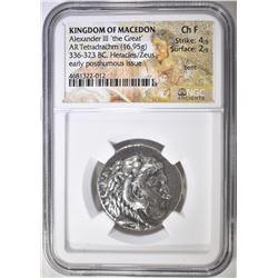 336-323 BC TETRADRACHM KINGDOM OF MACEDON