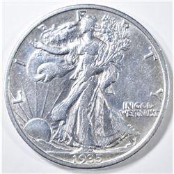 1935-S WALKING LIBERTY HALF DOLLAR  AU/BU