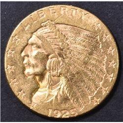 1925-D $2.5 GOLD INDIAN  CH BU