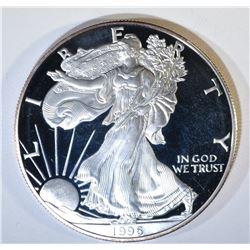 1996 PROOF AMERICAN SILVER EAGLE