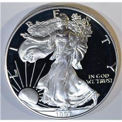 1997 PROOF AMERICAN SILVER EAGLE