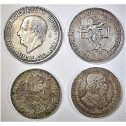 MEXICO SILVER COIN LOT