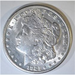 1921-S MORGAN DOLLAR AU/BU