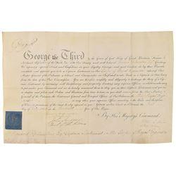 King George III and William Howe