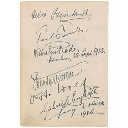 Bavarian Royalty and Opera Stars