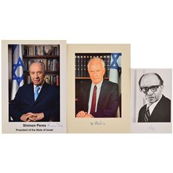 Israeli Nobel Peace Prize Winners