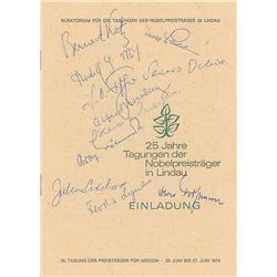 Lindau Nobel Laureates: 1975