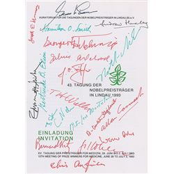 Lindau Nobel Laureates: 1993