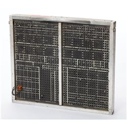 MAC Panel Computer Programming Patch Board with Cables