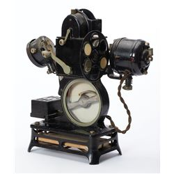 Antique Pathex 9.5mm Movie Projector with Color Wheel