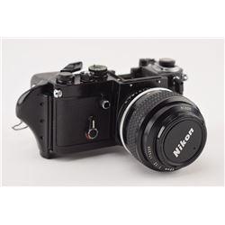 Vladimir Titov's Flown 35mm Nikon Camera with Special 58mm Lens
