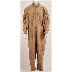 Space Shuttle Escape Crew Team Member Coverall Suit