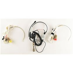 Space Shuttle Group of (3) Very Lightweight Headsets