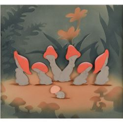 Mushrooms production cel from Fantasia
