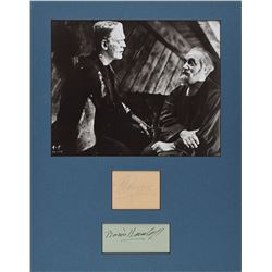 Frankenstein: Boris Karloff and O. P. Heggie