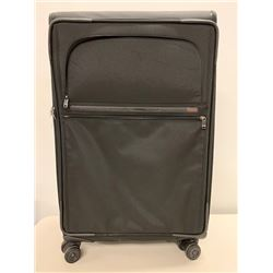 "TUMI Black Rolling Suitcase 12""x30"" (missing 2 zipper pulls)"