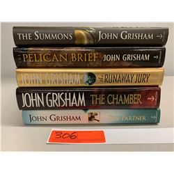 5 Books: Misc. John Grisham (The Pelican Brief, The Summons, The Chamber, etc.)