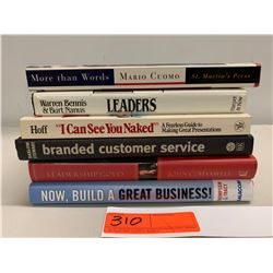 5 Books: Misc. Leadership and Business Management (Branded Customer Svc, etc.)