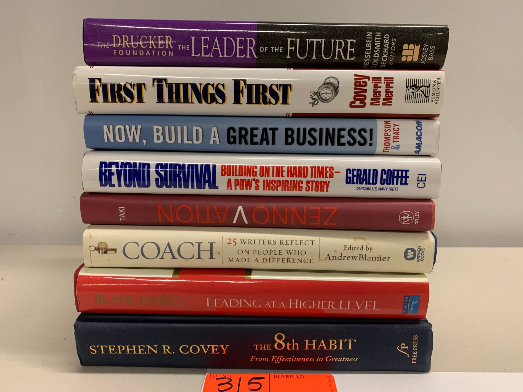 8 Books Misc Motivational Business Management Leadership Etc Oahu Auctions