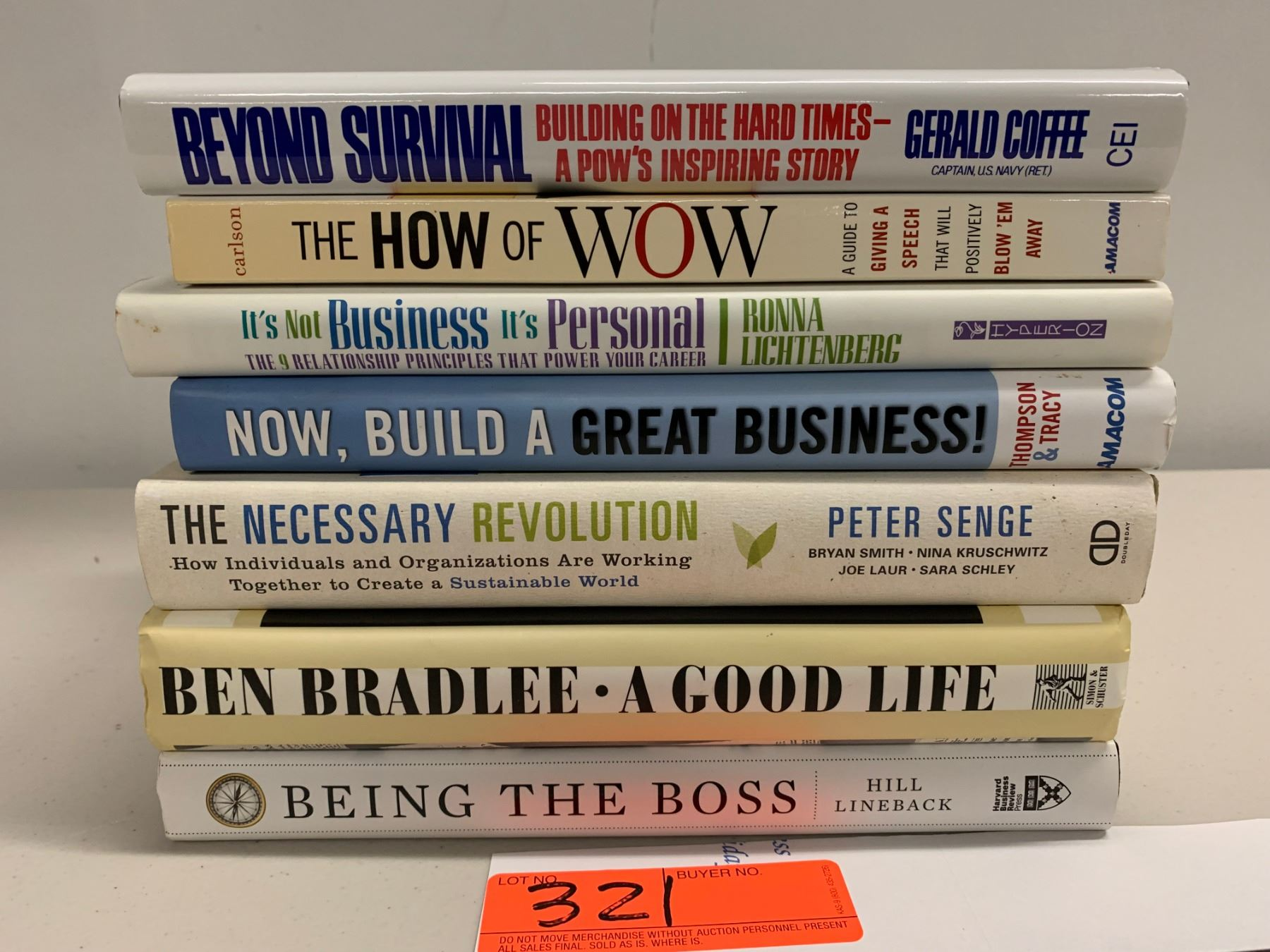 7 Books Misc Motivational Business Management Leadership Etc Oahu Auctions