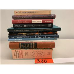 12 Books: Misc. Poetry, Success Stories, Dream Work, Memoirs, Sketch Book, etc.