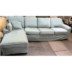 4-Piece Sectional Sofa w/ Chaise End