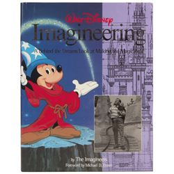 Imagineering Hardcover Book.