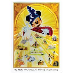 Imagineering Exclusive 50th Anniversary Lithograph.