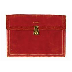 Harper Goff's Personal Briefcase.