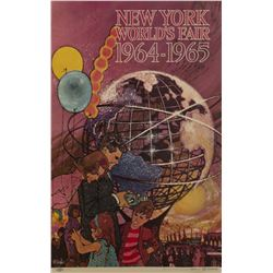 New York World's Fair Bob Peak Promotional Poster.