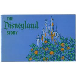 """The Disneyland Story"" Booklet."