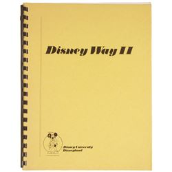 "Disney University ""Disney Way II"" Training Manual."