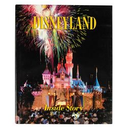 """Disneyland: Inside Story"" Hardcover Book."