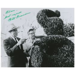 Disneyland Landscaping Bill Evans Signed Photo.
