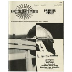 "Vol. 1, Issue #1 ""Persistence of Vision"" Magazine."