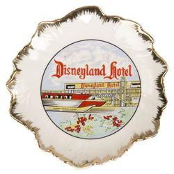 Disneyland Hotel Souvenir Leaf Dish.