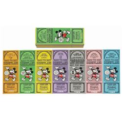 Collection of (38) Disneyland Complimentary Passports.
