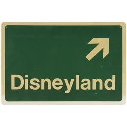 Disneyland Directional Sign.