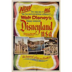 Disneyland USA Poster.